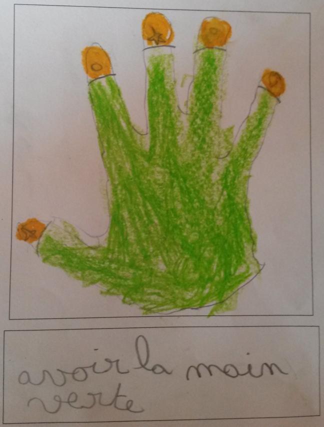 Expressions fran aises ecole privee saint melaine - Avoir la main verte ...